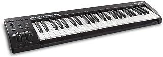 M-Audio Keystation 49 MK3 | 49 صفحه کلید کنترل کننده MIDI نیمه وزنی جمع و جور با کنترل های قابل تنظیم ، چرخ های پیچ / مدولاسیون و مجموعه تولید نرم افزار دارای USB (تمدید شده)