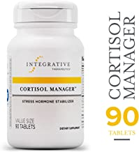 Cortisol Manager - Integrative Therapeutics - Sleep, Stress, and Cortisol Support Supplement* with Ashwagandha, Magnolia, and L-Theanine - Support Adrenal Health* - Vegan - 90 Tablets