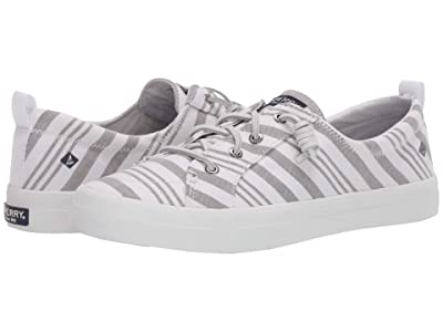 Sperry Crest Vibe Beach Stripe (Grey/White) Women