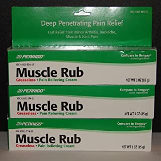 muscle rub by Perrigo