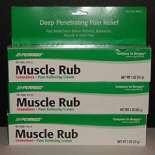 muscle rub by Perrigo