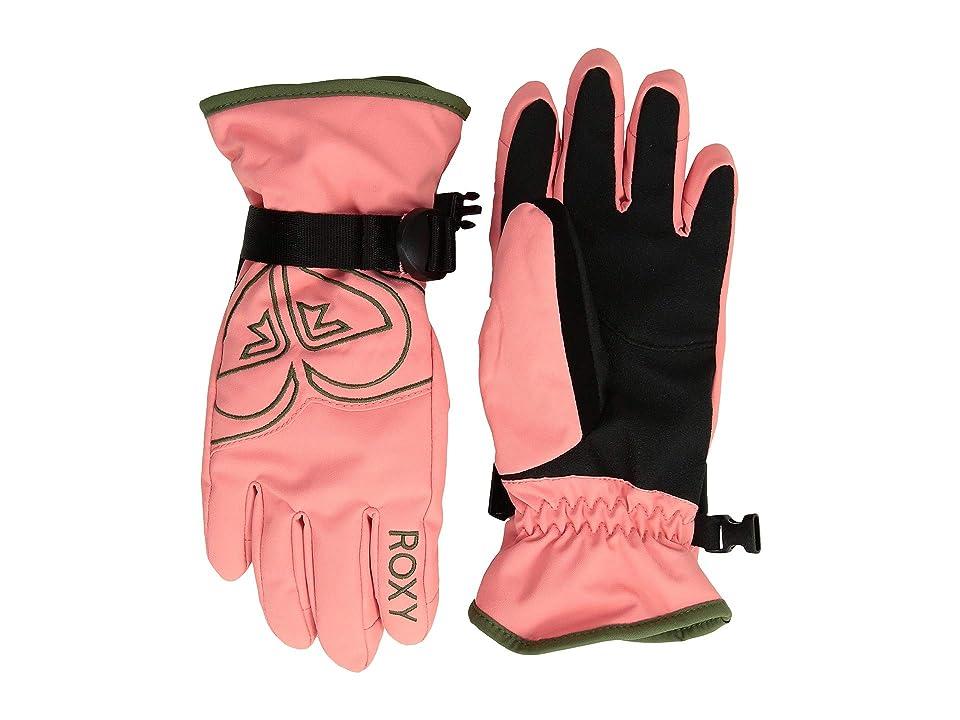 Roxy Kids Poppy Gloves (Little Kids/Big Kids) (Shell Pink) Extreme Cold Weather Gloves
