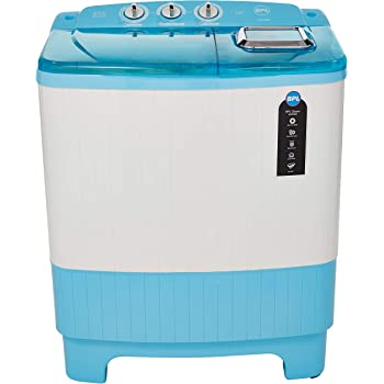 BPL 6.5 Kg Semi-Automatic Top Loading Washing Machine (W65S22A, Blue)