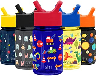 Simple Modern Summit Kids Tritan Water Bottle with Straw Lid - Leak Proof & Dishwasher Safe