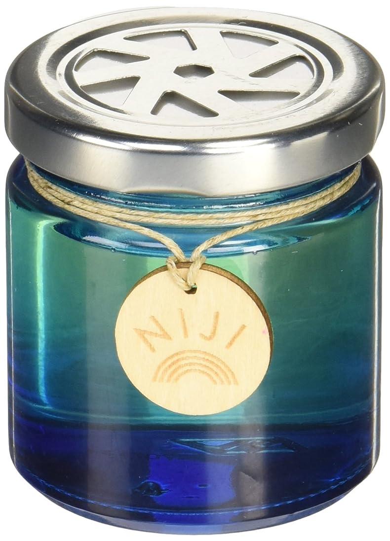 国旗女性アーチNIJI(ニジ) フレグランスゲル(芳香剤) ブライトブルースカイ 90g