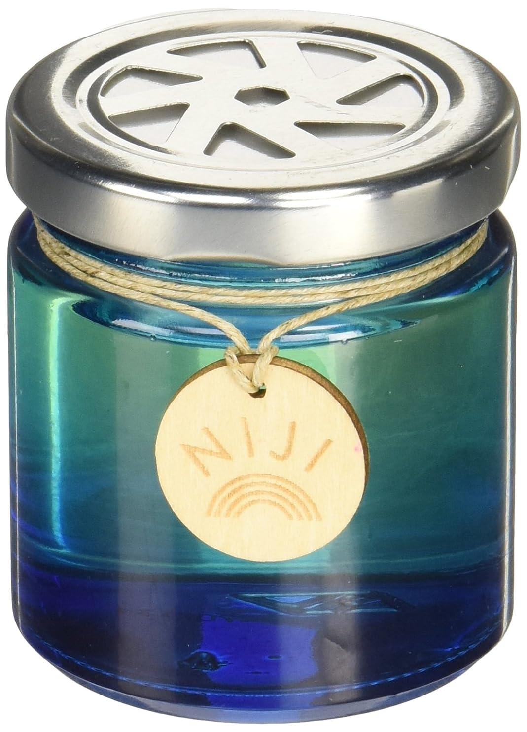 アラーム愛する趣味NIJI(ニジ) フレグランスゲル(芳香剤) ブライトブルースカイ 90g