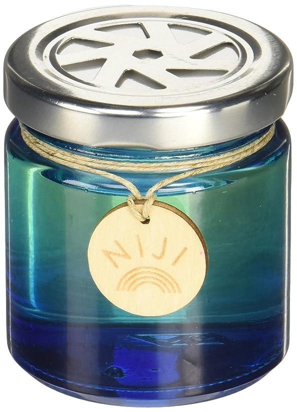 十億恥情熱的NIJI(ニジ) フレグランスゲル(芳香剤) ブライトブルースカイ 90g