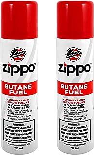 Zippo Butane Fuel 75 Milliliter / 2.5 Ounces (2-Pack)