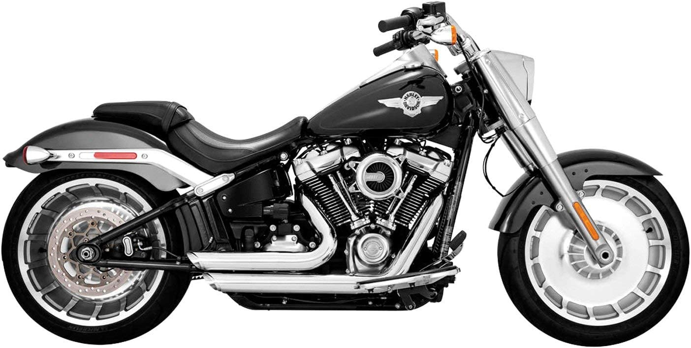 Vance Classic Hines 17235 Chrome Shortshots Exhaust f System 2021 Staggered