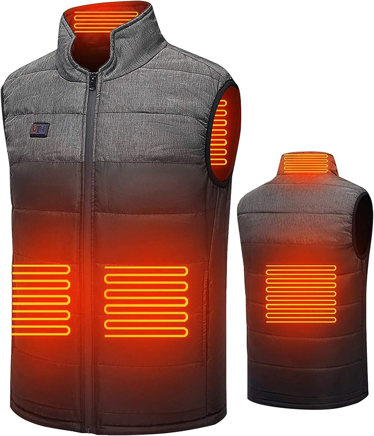 Free shipping Heated Vest Electric Warm Heating High quality for Men Camping Jacket Women