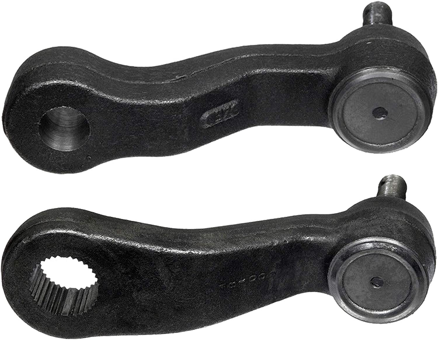 2 Piece Idler /& 3 Groove Pitman Arm Kit for Chevy GMC Escalade Hummer Truck
