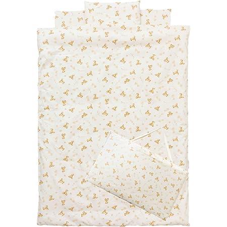 日本製 洗える お昼寝布団7点セット (ベアー, 園児用敷き布団)