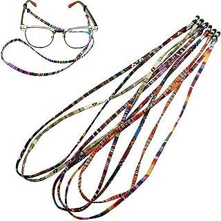 5PCS Sunglasses Neck Cord Strap Eyeglass Glasses String Lanyard Holder Colorful Rope Sports Eyewear Retainer Reading Glass...