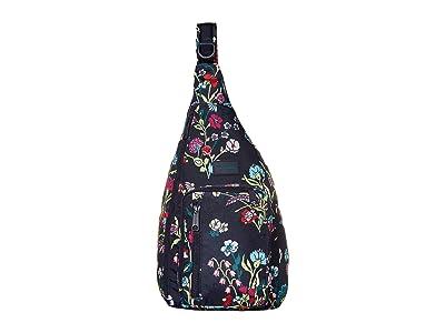 Vera Bradley ReActive Sling Backpack (Itsy Ditsy Floral) Backpack Bags