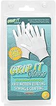 Sullivans Grip handschoenen voor gratis Motion Quilting klein, acryl, meerkleurig, 2-delig