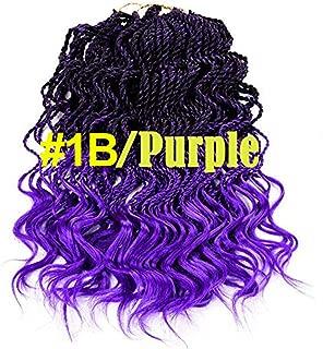 Best purple and black micro braids Reviews