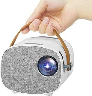 Mini Projector, Lejiada Portable Projector, Outdoor Movie Projector for Children Presents, Home Video Projector 1080P Supp...