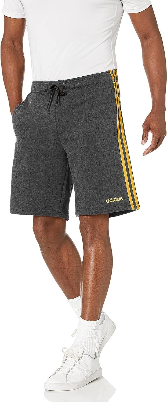 adidas Men's Essentials 3-Stripes Fleece Short