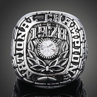 YIYICOOL Fans` Collection 1978 Alabama Crimson Tide Nation Championship Ring Size 11