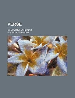 Verse; By Godfrey Egremont