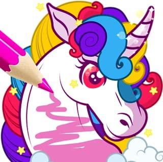 Rainbow Unicorn Coloring Book