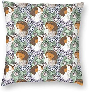 装飾的な正方形の投球枕カバーソファベッドルーム車のための花のフランスのブルターニュの肖像画E_1013クッションケース18 x 18インチ45 x 45 cm