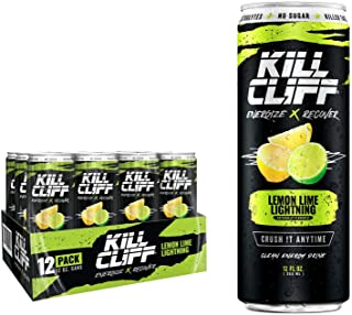 Kill Cliff Recovery Drink, Lemon Lime, 12 Oz Cans, 12Count