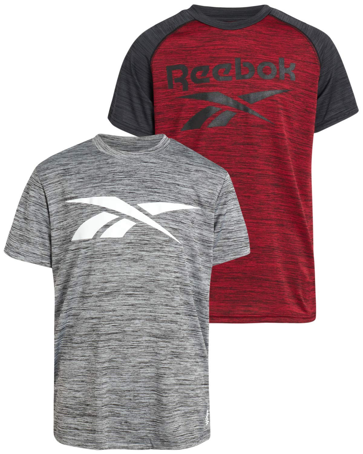 Reebok Boys Quick Dry Athletic Performance T-Shirts (2 Pack)