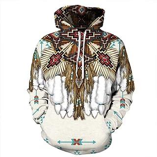 Tsyllyp Men's Crewneck Sweatshirt 3D Print Fashion Tops Unisex Pullovers