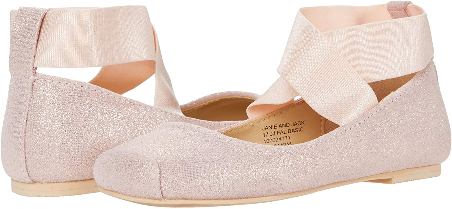 Janie and Jack Girl's Ballet Flats (Toddler/Little Kid/Big Kid)