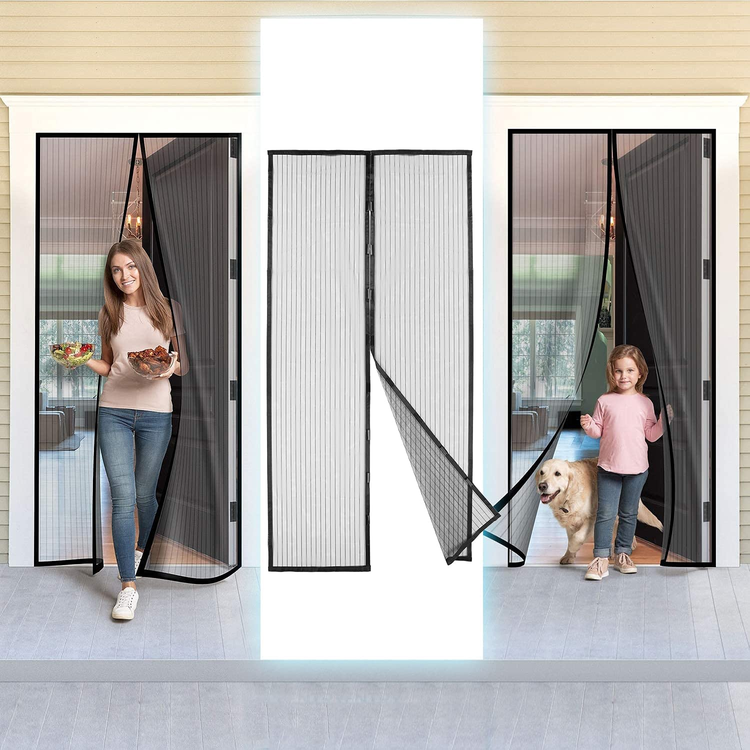 CCLIN Indoor Insect Fly Mosquito New Free Shipping Screen Heavy Direct sale of manufacturer Curtain Window Dut