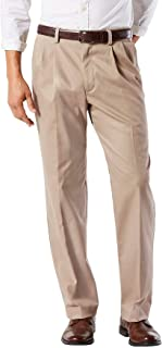dockers Men's Classic Fit Easy Khaki Pants-Pleated