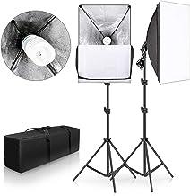 "SH 2Set 20""X28"" Softbox Photography Lighting Kit 135W Continuous Lighting System Photo Studio Equipment Photo Model Portra..."