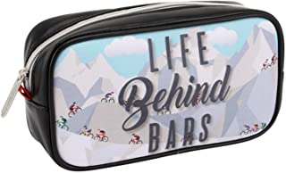 CGB Giftware The Bike Shop Life Behind Bars Wash Bag (UK Size: One Size) (Cycle Mountain)