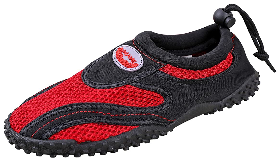 Starbay Women's Athletic Water Shoes Aqua Socks (8, Red)