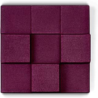 UPLIFT Desk - 3D Cubes Acoustic Wall Panel (Plum)