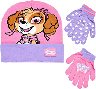 Paw Patrol Girls Winter Hat and 2 Pair Mittens or Gloves...