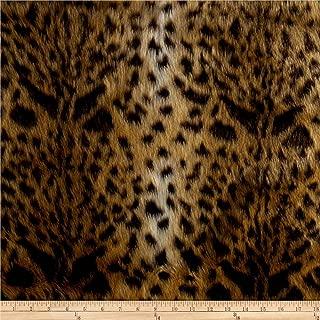Shannon Luxury Faux Fur Leopard Gold