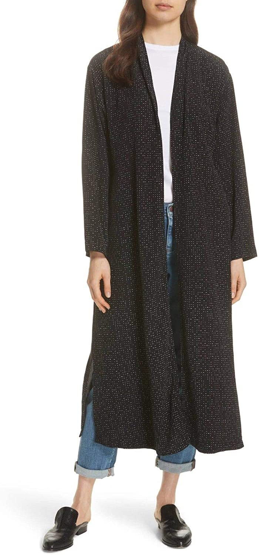 New 4 years warranty product Eileen Fisher Womens Morse Jacket Kimono Printed Code