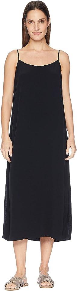0532f8216a3 Tencel Viscose Crepe V-Neck Cami Dress. Like 4. Eileen Fisher