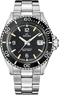 DELMA - Santiago Automatic Reloj para Hombre Analógico de Cuarzo con Brazalete de Acero Inoxidable 41701.560.6.034