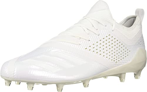 Adidas Men's Adizero 5-Star 7.0 Football chaussures, blanc or Metallic, 14 M US
