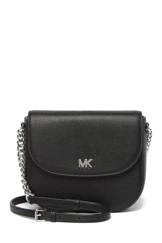 (マイケル コース) Michael Michael Kors Women`s Mott Half Dome Leather Crossbody Bag 女性用モットハーフドームレザークロスボディバッグ(並行輸入品)