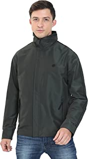 Forest Club Solid's Mens Jacket | Water Resistant | Reversible | Light Weight | Jacket for Men with Hood | (SLIM FIT)