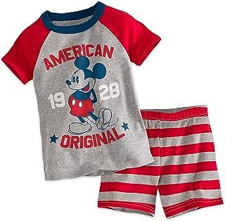 Disney Mickey Mouse Americana PJ Pals Short Set for Boys
