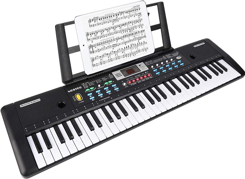 Wostoo tastiera elettronica pianoforte a 61 tasti TY0078_01-456-1511349833