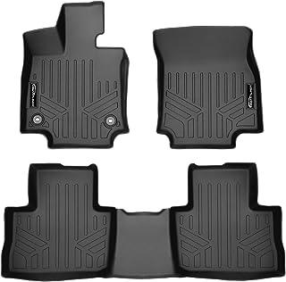 MAX LINER Custom Fit 2 Row Black Floor Mat Liners for 2019-2021 Toyota RAV4 (No Hybrid Models)