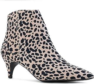 d2f06170526e Women's Pointy Toe Kitten Heel Pull On Slim Fit Chelsea Ankle Booties