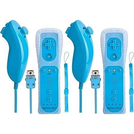 Controller Für Wii Mit Remote Nunchuck Motion Plus 2 Elektronik