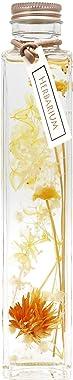 フラデコ枯れないお花プリザーブドフラワー「ハーバリウム」 (リモーネ・イエロー)
